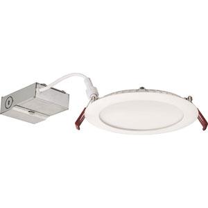 13W Ultra Thin 6-Inch Dimmable Recessed Ceiling Light 3000K White