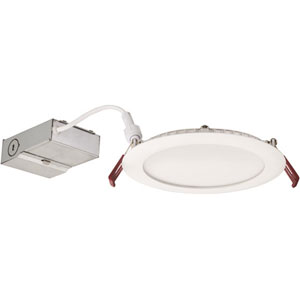 13.6W Ultra Thin 6-Inch Dimmable Recessed Ceiling Light 4000K White