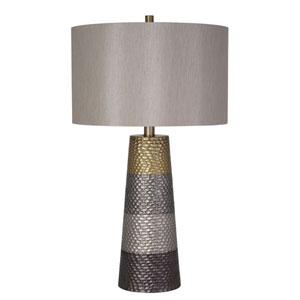 Dusk Painted Metallic LED Table Lamp