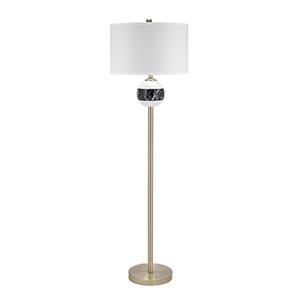 Murrieta Faux Marble 62-Inch LED Floor Lamp