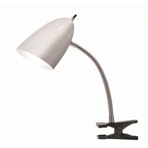 Tensor Brushed Steel 19-Inch One-Light Desk Lamp