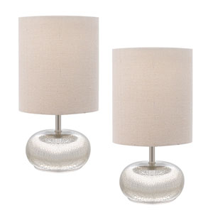 Mercury Glass One-Light Table Lamp