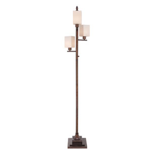 Oil Rubbed Bronze 12-Inch One-Light Floor Lamp