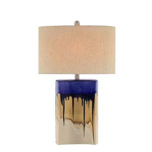 Multicolor Drip Glaze LED Table Lamp