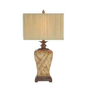 Soft Gold and Oil Rubbed Bronze 11-Inch LED Table Lamp
