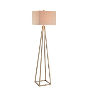 Painted Gold LED Floor Lamp