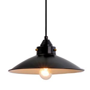 Bronze One-Light Pendant