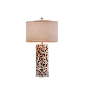 Sanibel Silver LED Table Lamp