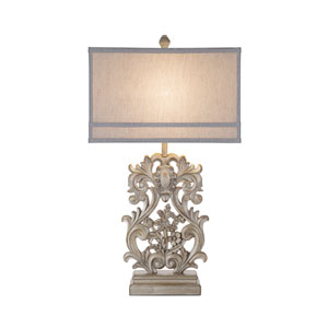 Vera Weathered Distressed LED Table Lamp