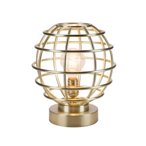 Antique Brass LED Table Lamp