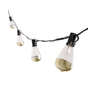 Dipper Copper 10-Light LED String Light