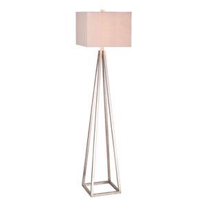 Antique Pewter LED Floor Lamp