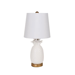 Antique Gold One-Light  Table Lamp