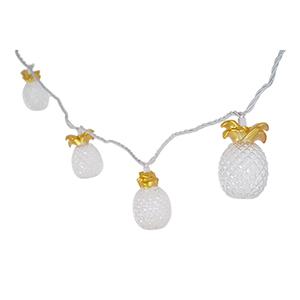 Ananas Gold 10-Light LED String Light