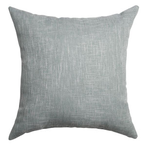 Blaine Spa 8 x 8 In. Soft Tweed Linen Decorative Pillow