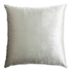 Tatum Haze 8 x 8 In. Luxurious Velvet Decorative Pillow