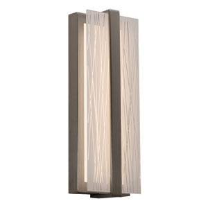 Gallery Satin Nickel LED Wall Sconce