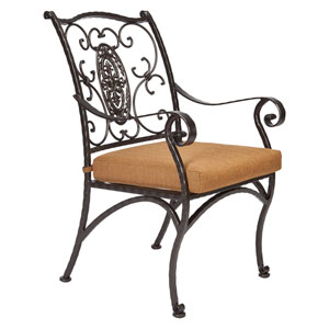 Dining Arm Chair, Copper Canyon and Trax Teak