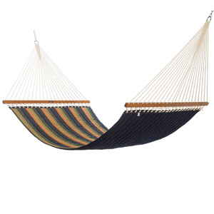Pawleys Island Gateway Aspen Quilted Fabric Hammock- Large