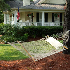 Rope Hammock Cotton Deluxe