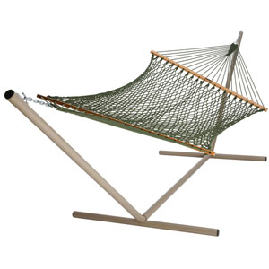 Rope Hammock Duracord Meadow Green Presidential