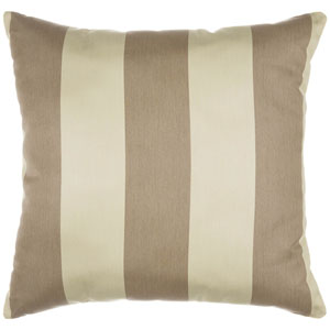 Pillow Sunbrella Square Large Regency Sand