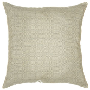 Pillow Sunbrella Square Large Linen Silver