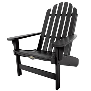 Essentials Black Adirondack Chair