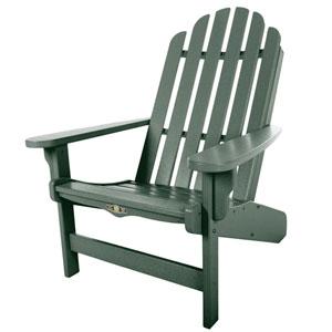 Essentials Green Adirondack Chair