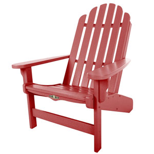 Essentials Red Adirondack Chair
