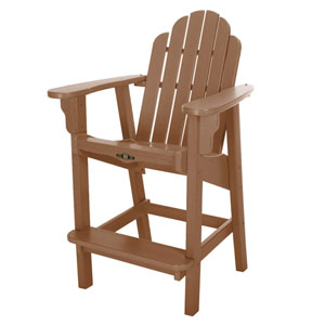 Essentials Cedar Counter Chair