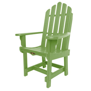 Essentials Lime Dining Chair/Arm