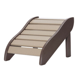 Chocolate/Weatherwood Foot Rest