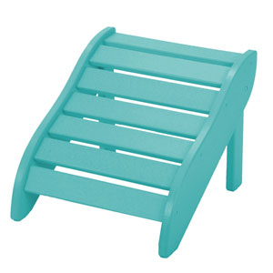 Turquoise Foot Rest