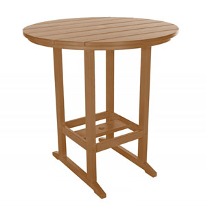 Cedar High Dining Table Round