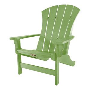Sunrise Dew Lime Adirondack Chair