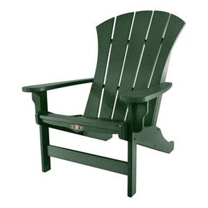 Sunrise Dew Pi Green Adirondack Chair