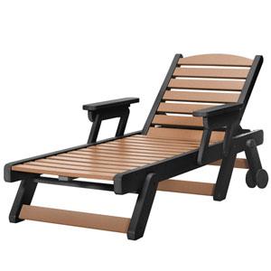 Sunrise Dew Black/Cd Chaise Lounge