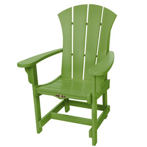 Sunrise Dew Lime Dining Chair/Arm