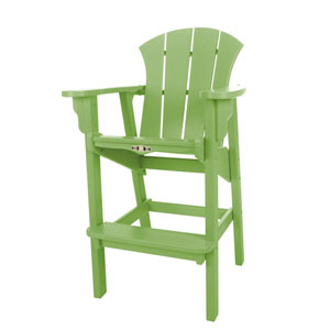 Sunrise Dew Lime Hi Dining Chair