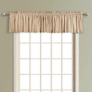 Anna Taupe 16 x 54 In. Topper