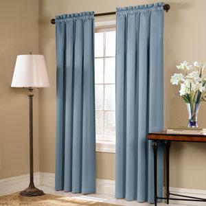 Blackstone Blue 45 x 54 In. Curtain Panel