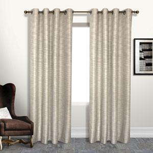 Brighton Beige 84 x 55 In. Curtain Panel