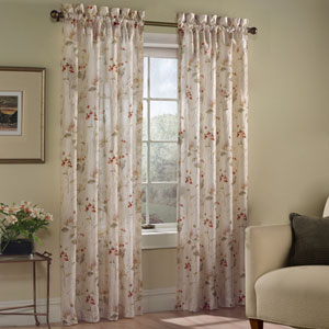 Chantelle Multicolor 84 x 48 In. Curtain Panel