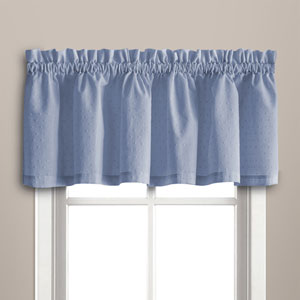 Dorothy Blue 14 x 54 In. Valance