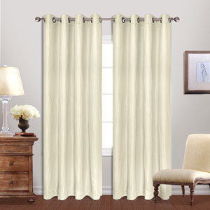 Hamden Ivory 84 x 54 In. Curtain Panel