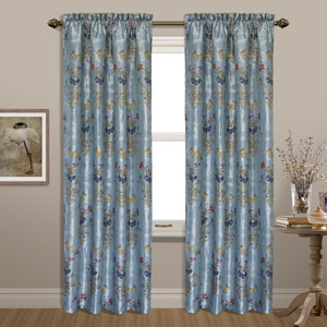 Jewel Blue 63 x 54 In. Curtain Panel