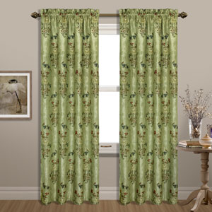 Jewel Green 63 x 54 In. Curtain Panel