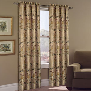 Jewel Multicolor 84 x 54 In. Curtain Panel