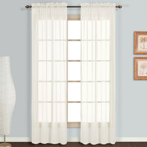 Monte Carlo Egg 63 x 118 In. Curtain Panel Set, Set of Two